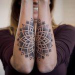 Dotwork tattoo Paradox