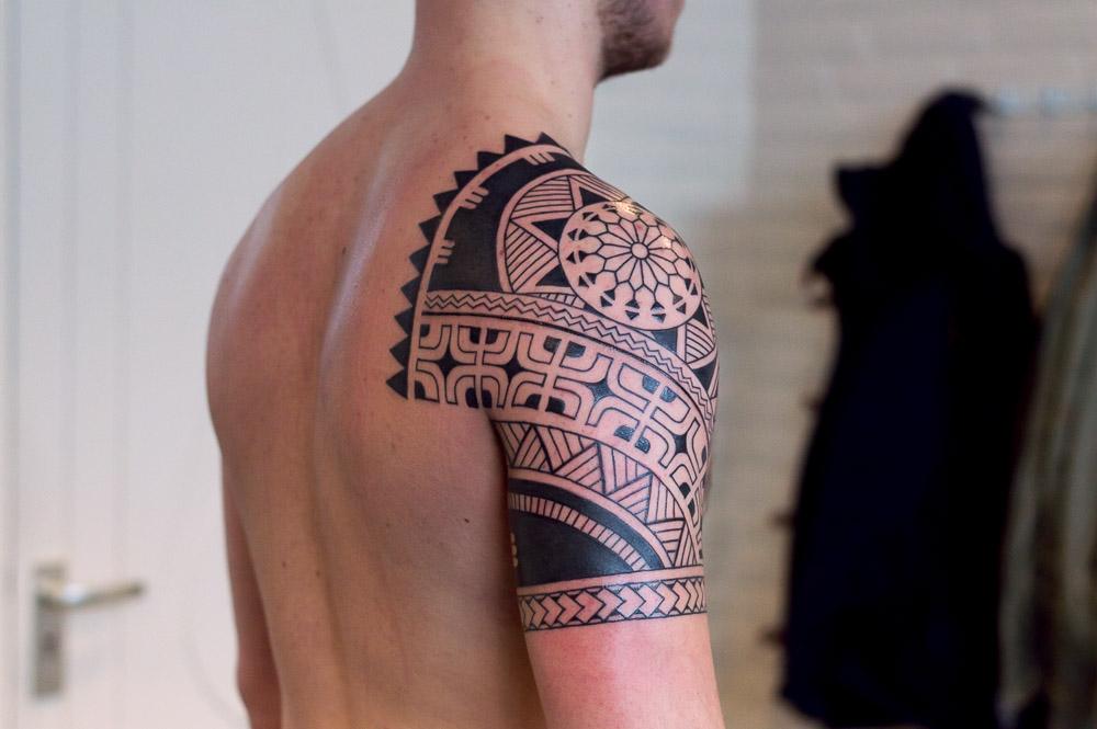polynesische tattoo enschede